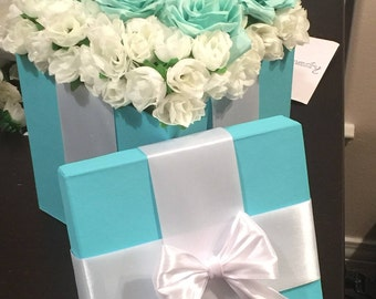 Flowers in a box - Tiffany Edition