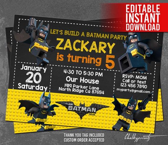 lego batman invitations lego batman invites lego batman