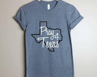 Hurricane Harvey Donation-Pray 4 texas- Texas Strong Tshirt-Hurricane Harvey Shirts-Hurricane Harvey Shirt-Fundraising shirt- Texas Shirt