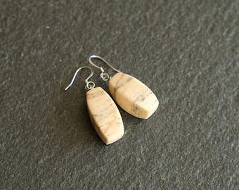 Texada Island Marble earrings