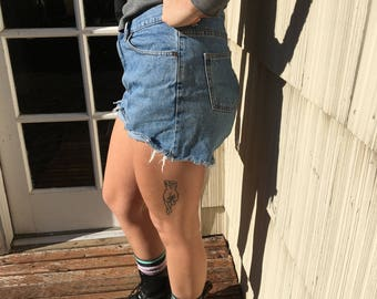Vintage L L Bean Cut Off Shorts 29/30