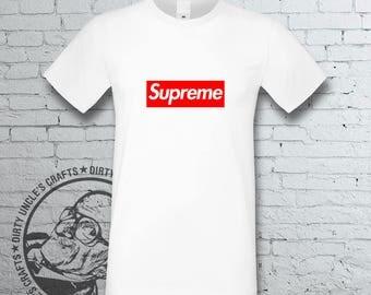 Designer Inspired Supreme Louis Vuitton T Shirt Tee Italy Men Women Cosmopolitan Fashion Tee Urban High Authority