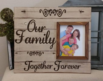 Together Forever Family Photo Frame