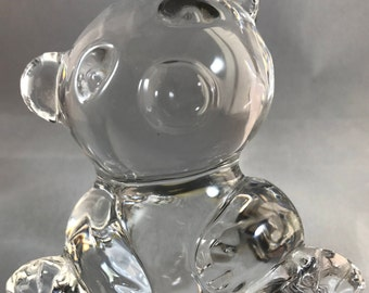 Bleikristall Lead crystal Bear