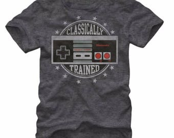 Classically Trained - Vintage Gaming Tee
