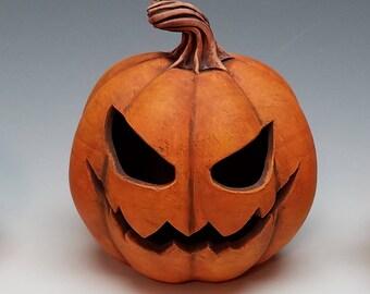 Wicked Jack - clay pumpkin