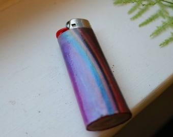 Trippy custom BIC lighter