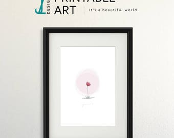 SingleAndLovinIt Downloadable Print, illustration, digital download, art print
