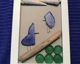 Sea Glass Birds