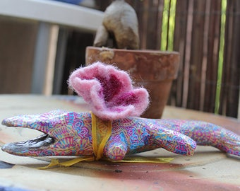 Paper mache crocodile ***The precious***