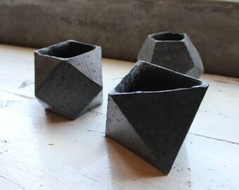 Light Concrete Pots