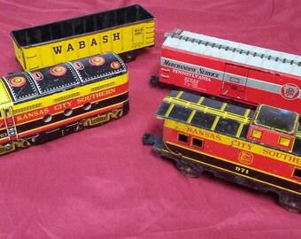 Kansas City Southern set #8842 by Marx Lionel vintage toy engine caboose track