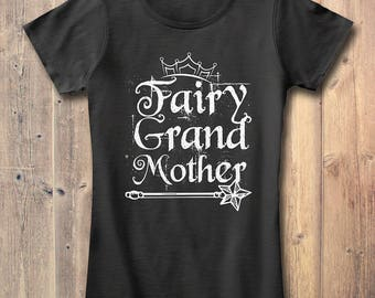 Fairy Grand Mother T-shirt Grandma Gift