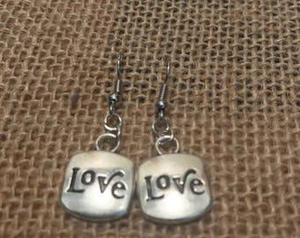 Love & Heart Earrings