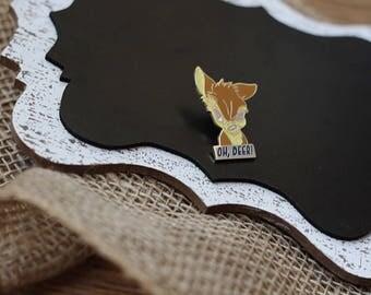 Oh, Deer! Bambi Hard Enamel Pin
