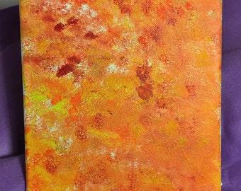 Orange Abstract 1