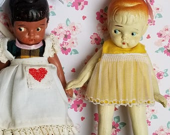 Two Made in Japan Dolls