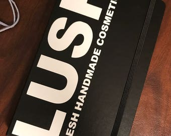 LUSH Cosmetics : Moleskine notebook