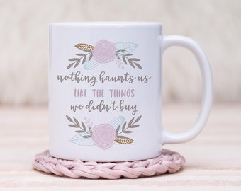 Online Shopping Coffee Mug // Gift For Her, Planner Gift, Mother's Day Gift
