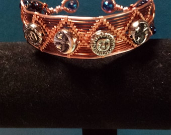 Luna bracelet, Sun and Moon