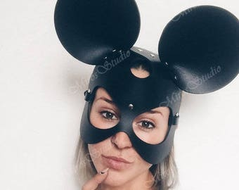 Mickey mouse mask  Etsy