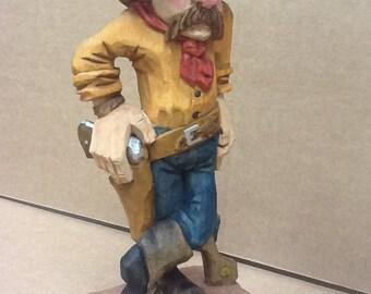 Cowboy sculpture western art
