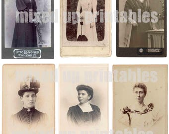 Mixed Up Printables - Carte de Visite - Ladies Who Lunch