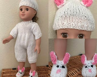 Easter Bunny Outfit for Doll