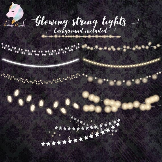 String Lights Clipart Fascinating String Lights Christmas Lights Lights Of Strings Fairy Lights