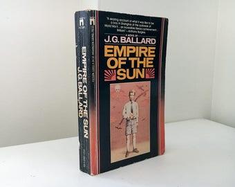 Empire of the Sun by J.G. Ballard (First Paperback Edition)