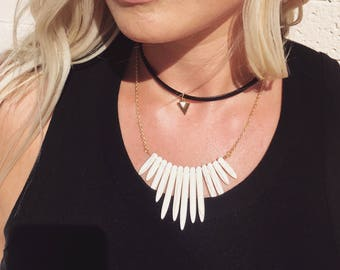Black Leather Chokers