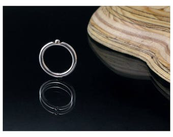 Silver ring and Pearl