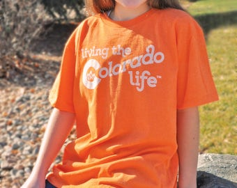 SALE! Youth T-shirt - Living the Colorado Life
