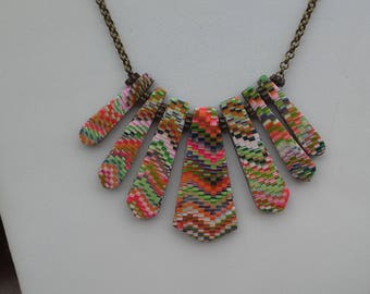"""""""Rainbow"""" necklace"""