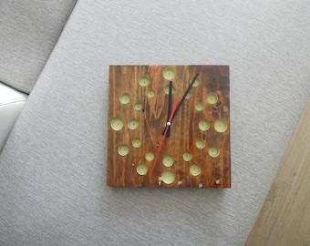"Clock wood ""Galaxy"""