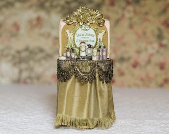 Dollhouse Miniature - 1:12 Scale Perfume Shop Display