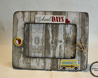 2 School Days Picture Frame