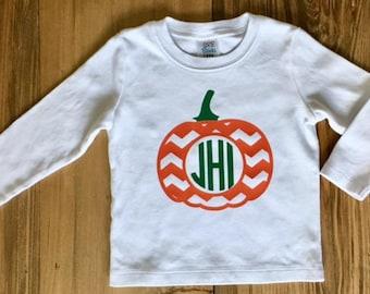 Boys Pumpkin Fall Shirt