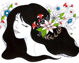 flower's girl