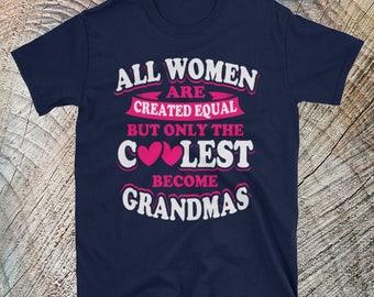 Coolest Grandmas | Grandma Gift | Grandma Shirt | Grandma T Shirt | Granda Christmas Gift | Grandma Clothes | Blessed Grandma | Grandma