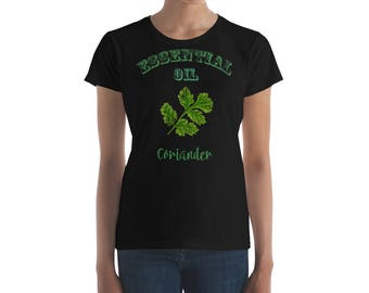Essential Oil Coriander Women's short sleeve t-shirt