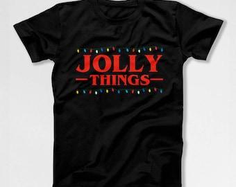 Gifts For Stranger Things Fans Christmas T Shirt Xmas Present Holiday Present Christmas Clothing Xmas Clothes Holiday Season X-Mas TEP-573