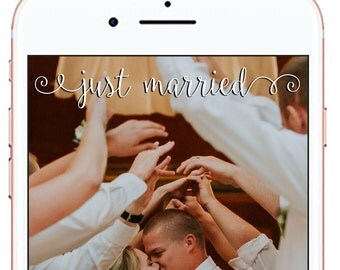 Wedding Snapchat Geofilter *for immediate download - not personalized* #9