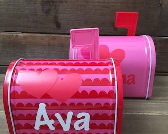 Personalized Mailbox   Valentineu0027s Day Mailbox   Valentines Day Gifts    Gifts For Kids   Valentines