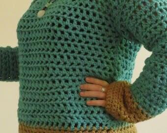 Wool chunky sweater
