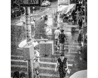 So What - New York City, Black and White Fine Art Photography Print