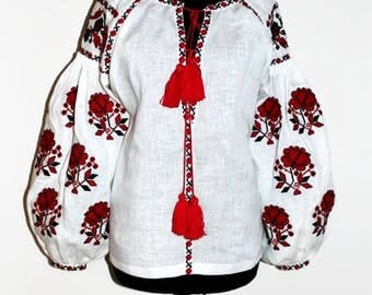 Vishivanka Ukrainian Clothing Vyshyvanka Woman Embroidered Boho Blouse Custom Embroidery Ethnic Style Bohemian Clothes Fashion Ukraine Boho