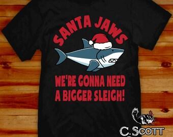 Santa Jaws T-Shirt
