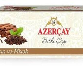 Azercay Herbal Tea with Clove&Cinnamon