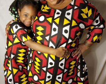Mommy and me outfit/mommy and me ankara/mommy and me dress